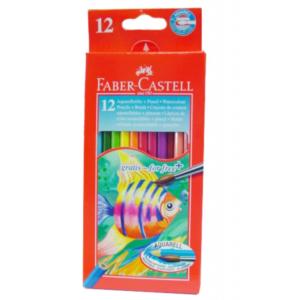 Faber Castell 12 Watercolour Pencils-0