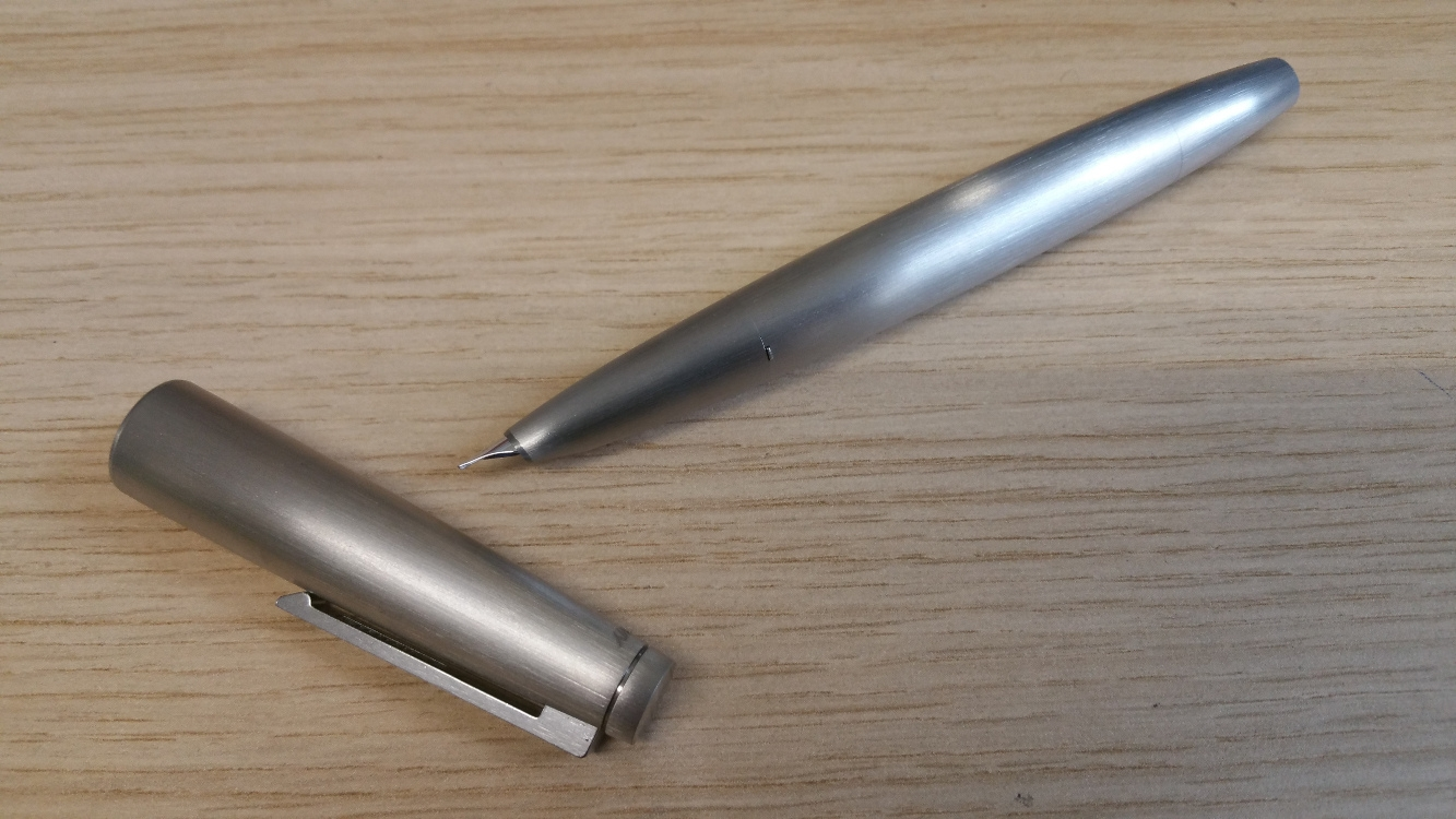 Lamy 2000 Stainless Steel Fountain Pen-9085