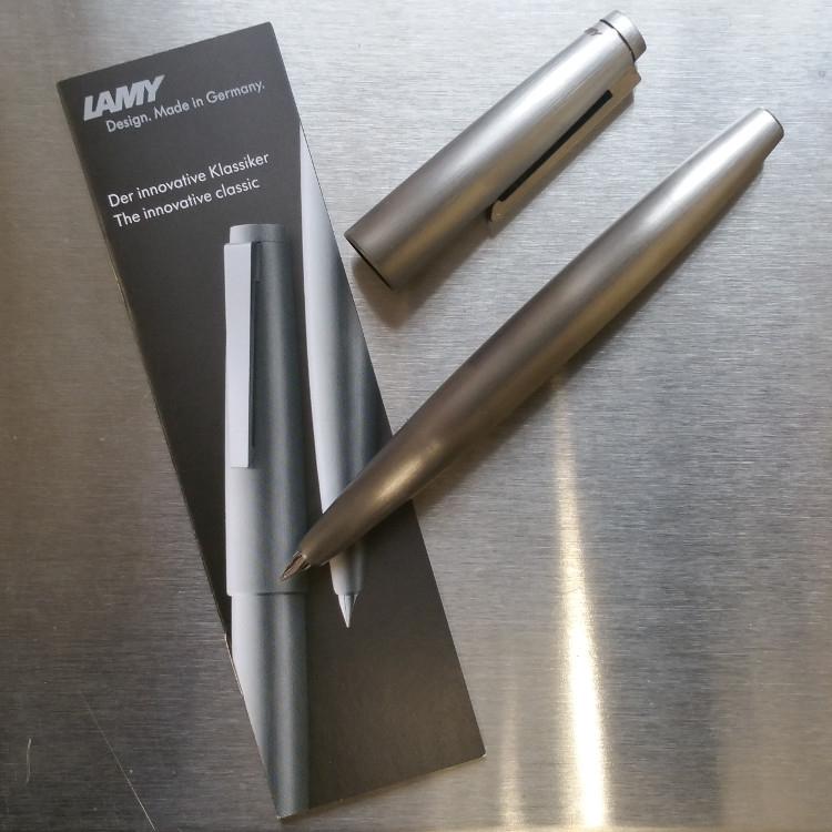 Lamy 2000 Stainless Steel Fountain Pen-9086