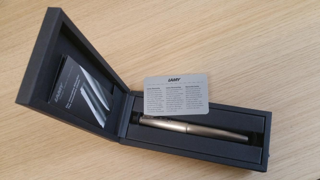 Lamy 2000 Stainless Steel Fountain Pen-9088
