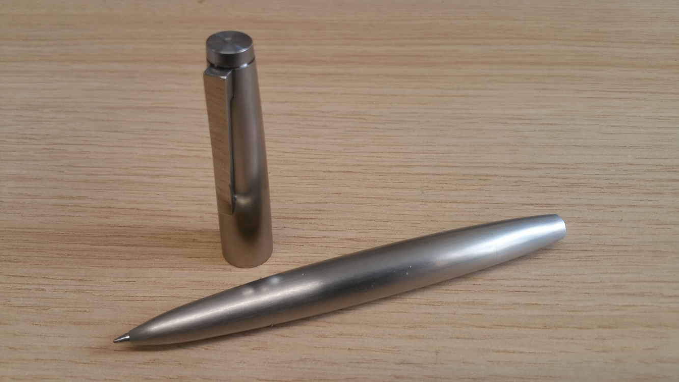 Lamy 2000 Stainless Steel Rollerball Pen-9084