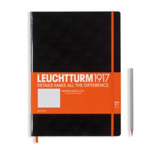 Leuchtturm 1917 Whitelines Link Notebook - Master Slim (A4+)-0