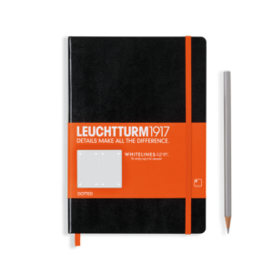 Leuchtturm 1917 Whitelines Link Notebook - Medium (A5)-0