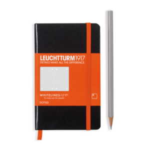 Leuchtturm 1917 Whitelines Link Notebook - Pocket (A6)-0
