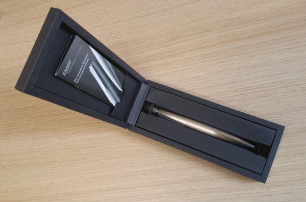 Lamy 2000 Stainless Steel Pencil-9090