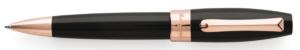 Montegrappa Fortuna Rose Gold Black Ballpoint Pen-0