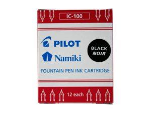 Pilot Namiki Black Cartridges - 12