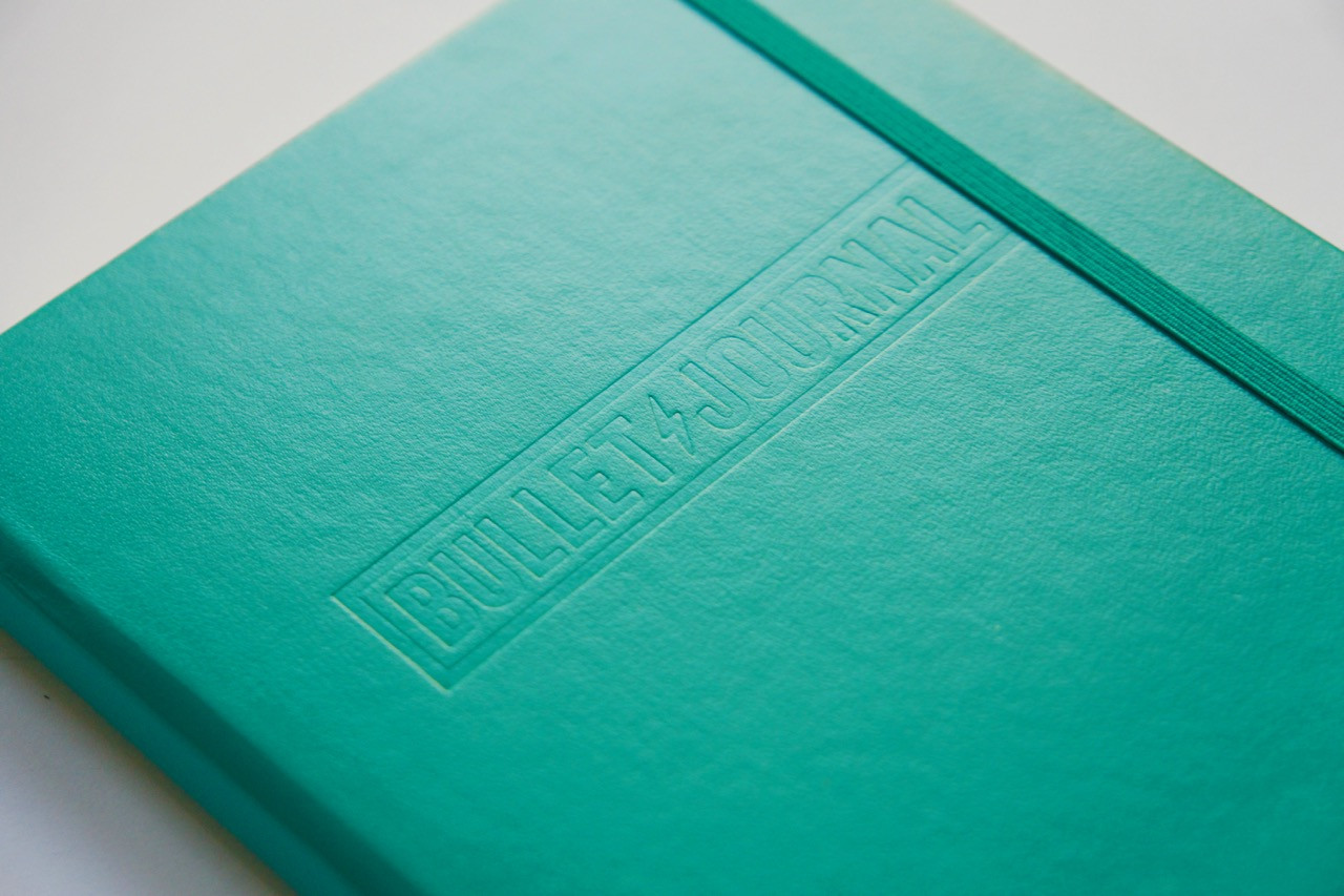 Emerald Leuchtturm 1917 Bullet Journal Notebook Medium