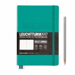 Cover Leuchtturm 1917 Bullet Journal Notebook Medium Emerald