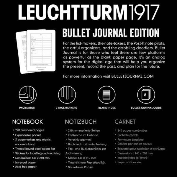 Benefits of Leuchtturm 1917 Bullet Journal Notebook Medium