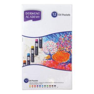 Derwent Academy Oil Pastels 12 Set