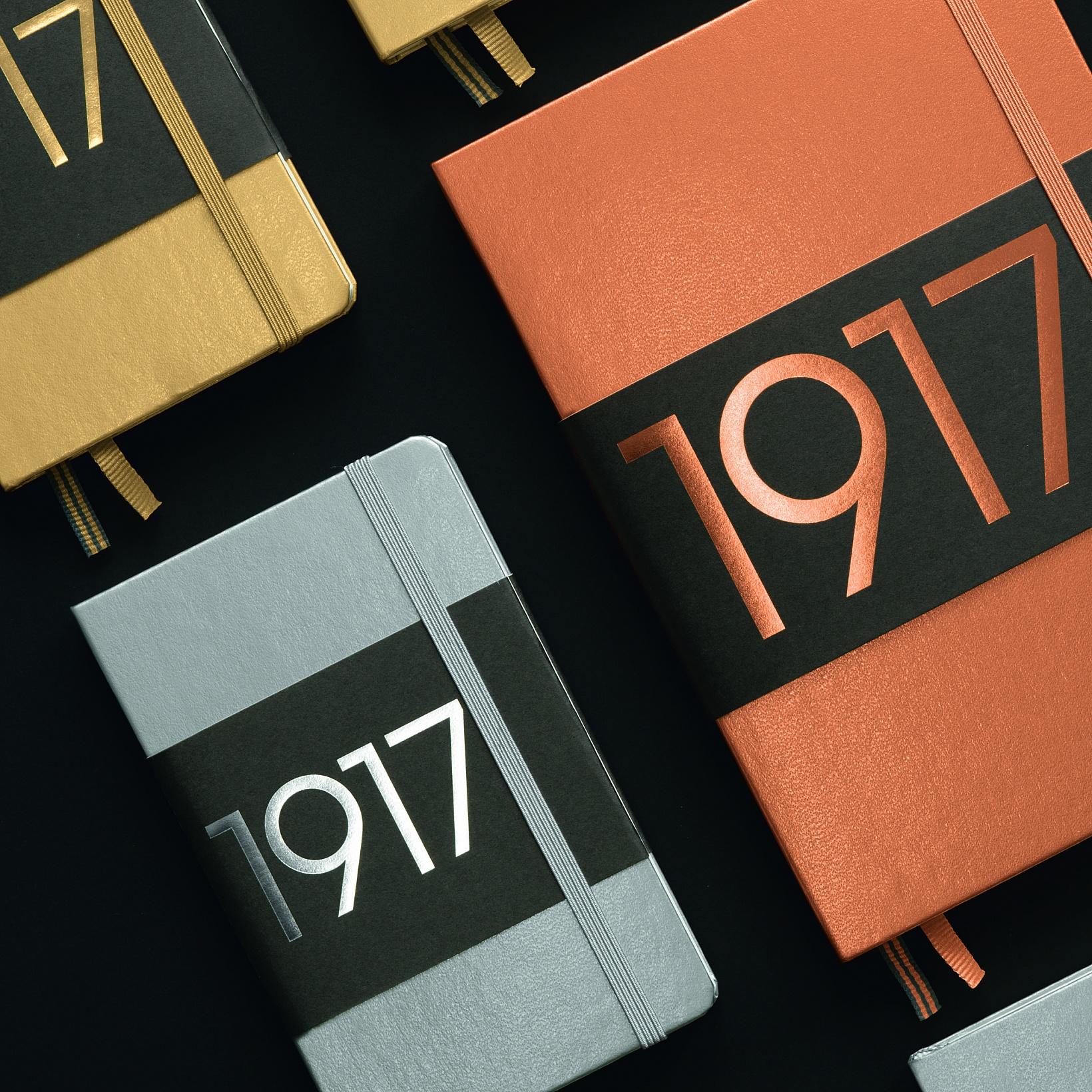 Leuchtturm 1917 A5 METALLIC EDITION NOTEBOOK Dots-7796