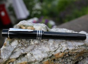 Magna Classic Black with Silver fittings