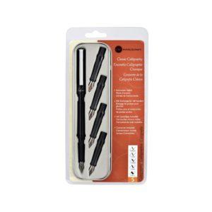 Monarch Classic Calligraphy Pen & 5 Nib Set