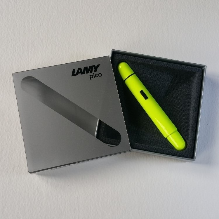 Lamy Pico Neon Yellow Special Edition Ballpoint Pen-9342