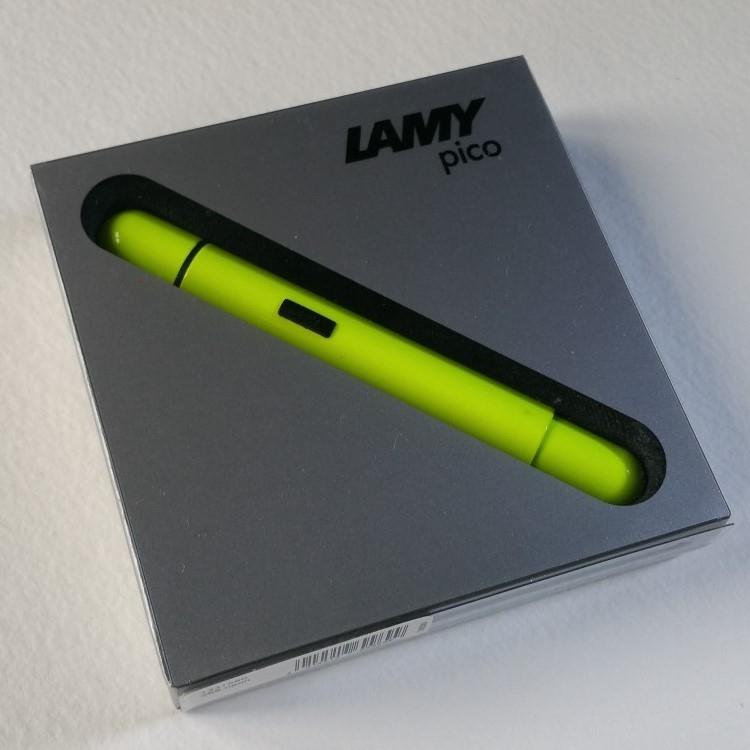 Lamy Pico Neon Yellow Special Edition Ballpoint Pen-9341