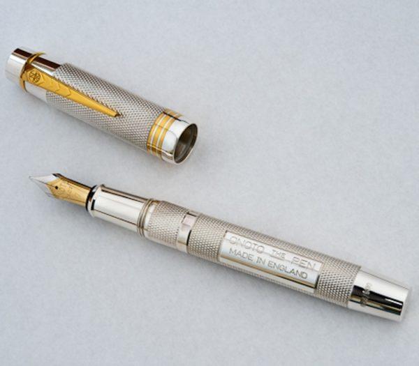Onoto Magna Classic Sterling Silver fountain pen-0