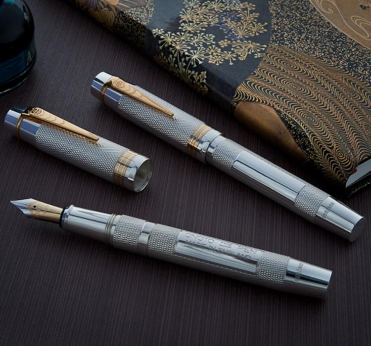 Onoto Magna Classic Sterling Silver fountain pen-9890