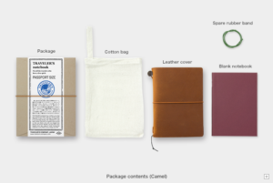 Traveler's Company notebook Camel