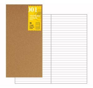 Travelers Notebook Regular Size - lined refill-0