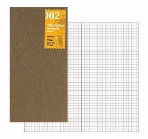 Travelers Notebook Regular Size Grid Refill-0