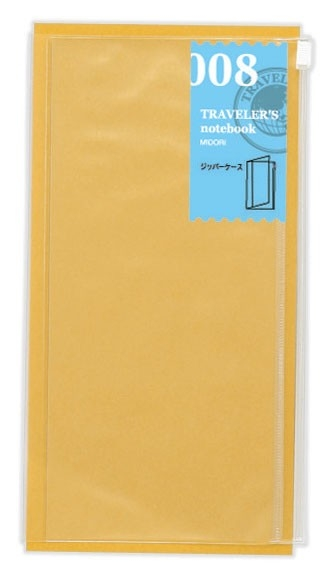 Traveler's Notebook Regular Size Zipper Pocket