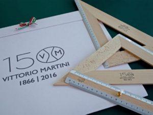 Technical Drawing Set Vittorio Martini 1866 150° beech wood-0