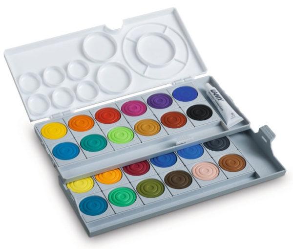 Lamy Aquaplus Paintbox White 24 Colour